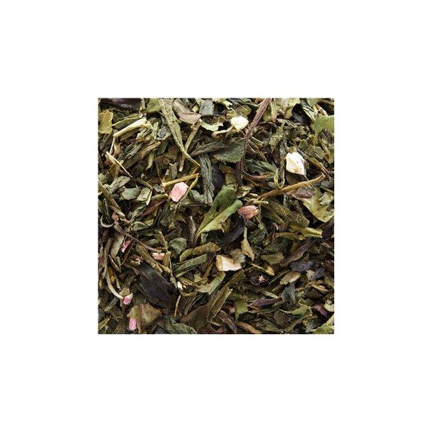 Grøn Hvid Rabarber Vanilje Te