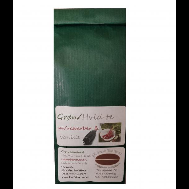Grøn Hvid Rabarber Vanille te