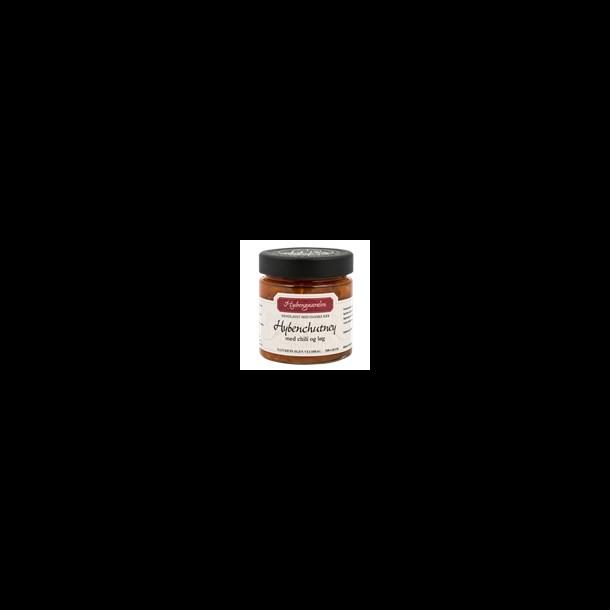 Hybenchutney med chili og løg